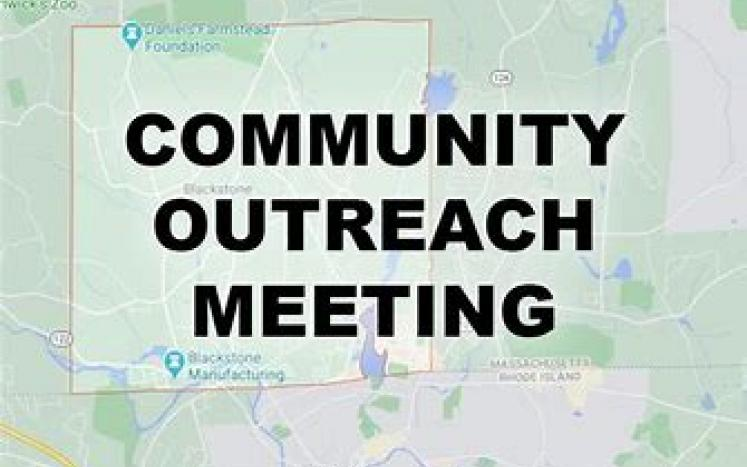 A in-personCommunity Outreach Meeting has been scheduled forAugust 12, 2021at 6:00 pm.