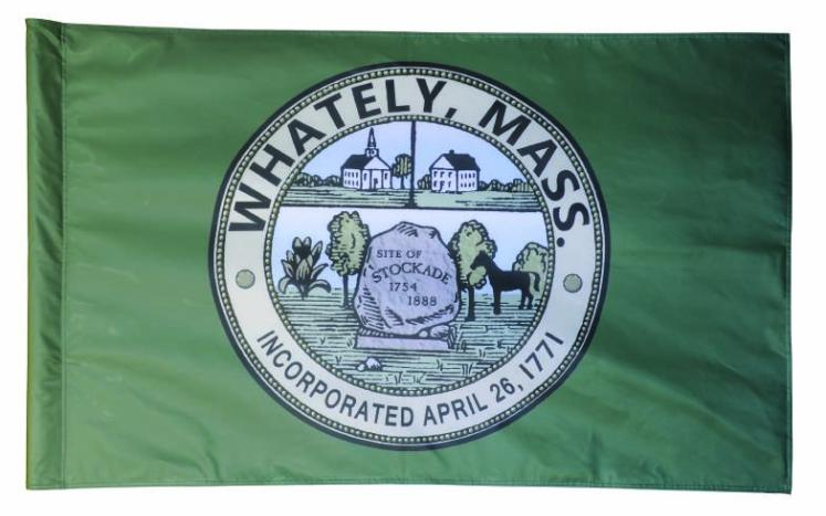 Whately Town Flag to the Great Hall of Flags